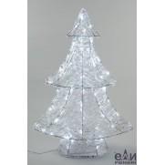 Акриловая ель, 80 ламп, 60 см, арт.9491975