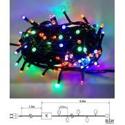 Электрогирлянда 230V, 120 LED (мультицвет), арт.LC1207M