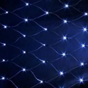 Электрогирлянда сетка, 240 LED синие, IL1314TB
