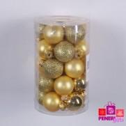Набор шаров 3 см, золото