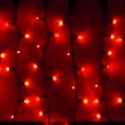 Световой занавес, красные 300 LED, арт.IL-CT-K300R