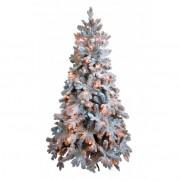 Ель снежная световая Барокко премиум 120 см