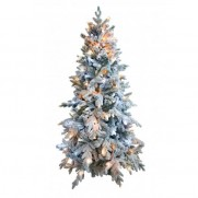 Ель снежная световая Россо премиум 120 см