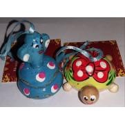 Набор елочных игрушек Дорожный в пакете (2 шт)