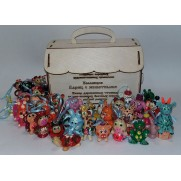 Набор елочных игрушек Ларец с животными (40 игрушек)