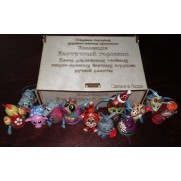 Набор елочных игрушек Восточный Гороскоп (12 шт)