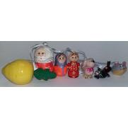 Набор елочных игрушек Репка в пакете (7 шт)