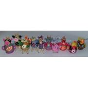 Набор елочных игрушек Ферма в пакете (10 шт)