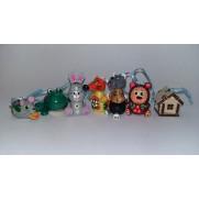 Набор елочных игрушек Терем-теремок (7 шт)