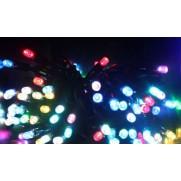 Электрогирлянда LED 140  диодных ламп 4 цвета(кр.,ж,син,зел.) с контроллером,8 режимов