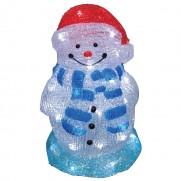 Акриловая фигура «Снеговик» мал. 28 см