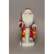 Дед Мороз из ткани арт 1