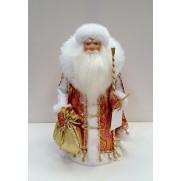 Дед Мороз под елку 32см с воротником д32-003к 025