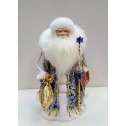 Дед Мороз под елку 32см с воротником д32-003с 025