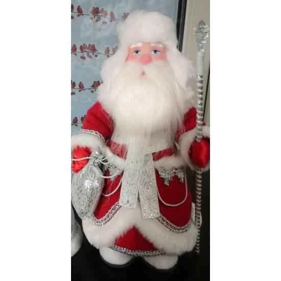 Дед Мороз под елку в валенках и в ушанке д35-001 226