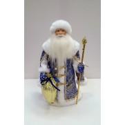 Дед Мороз под елку 32см д32-001с синий 055