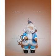 Игрушка Дед Мороз на елку 13 см. Голубой F03BLL-RU-A5ST