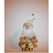 Игрушка Дед Мороз на елку 18 см. Зол F05GORP-W-WS-A7STTN