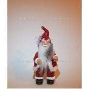 Игрушка Санта Клаус на елку 13 см. Бордо F01RRP-W-RO2-N5ST