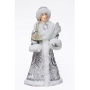 Снегурочка из ткани с зайцем с30-002 015