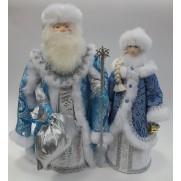 Набор Дед Мороз и Снегурочка из ткани №26