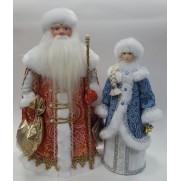 Набор Дед Мороз и Снегурочка из ткани №30