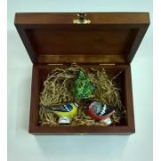 Набор игрушек Птички с елочкой (3 шт)