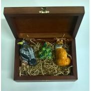 Набор игрушек Ворона и лисица (3 шт)