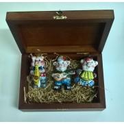 Набор игрушек Три поросенка музыканта (3 шт)