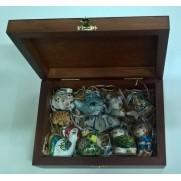 Набор игрушек на маленькую елочку (10 шт)