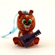 Тигр с балалайкой ТС-011202б