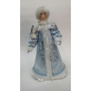 Снегурочка без снежка в голубой шубке (арт. с32-003г 054)