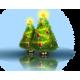 Оптоволоконные елки