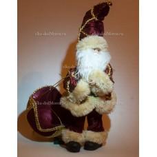 Игрушка Санта Клаус на парашюте 36 см. M11-23BU