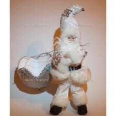 Игрушка Санта Клаус на парашюте 36 см. M11-23SI