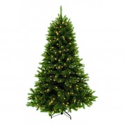 Триумф ель Лесная красавица 155 см 152 лампы зеленая